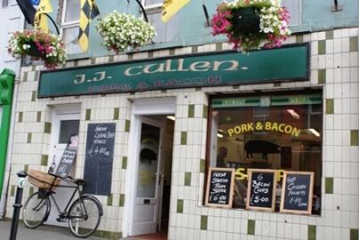 Carnicería (Si, aunque no lo creas lo locales son así) en Kilkenny