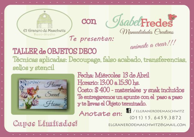 flyer clases isa
